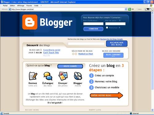 comment ouvrir un blog